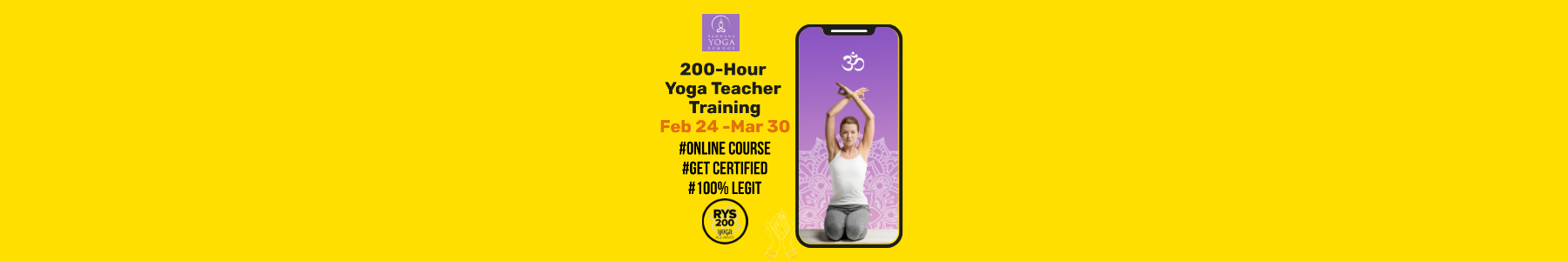 200-Hour Online Yoga Teacher Trainings